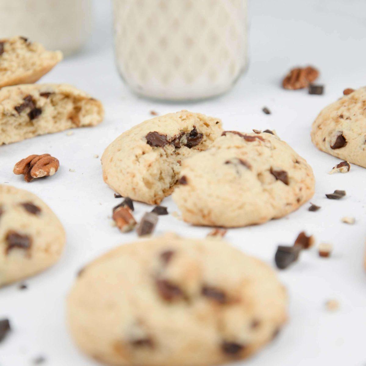 Cookie vegan pecan erable