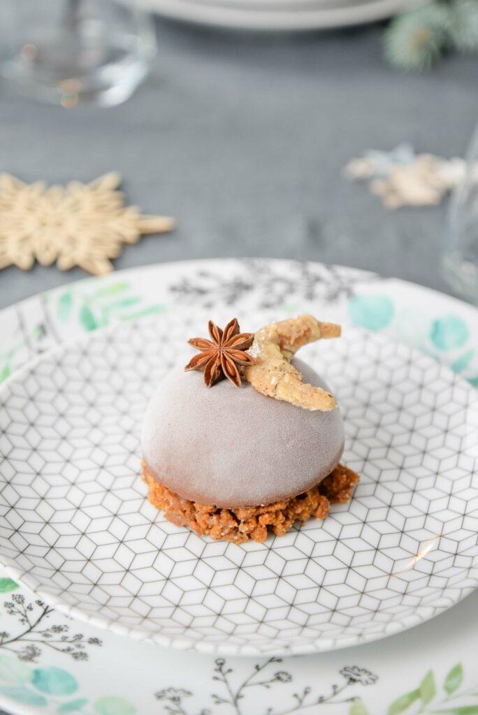 Recette vegan dessert repas de Noel