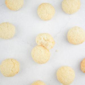 Biscuit vegan boule coco