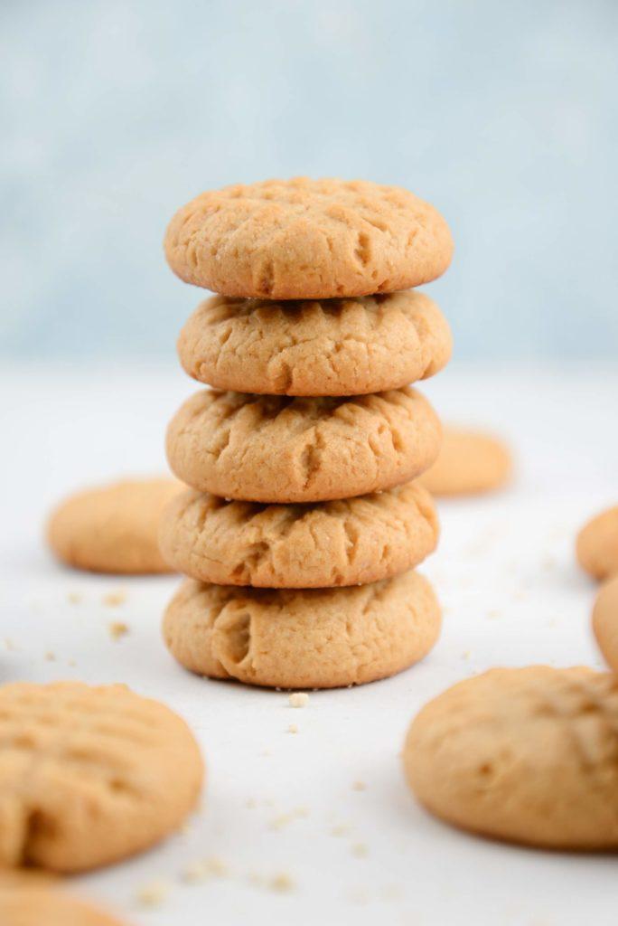 Biscuit vegan cacahuete