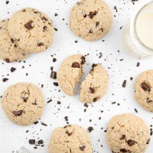 Cookie vegan avoine