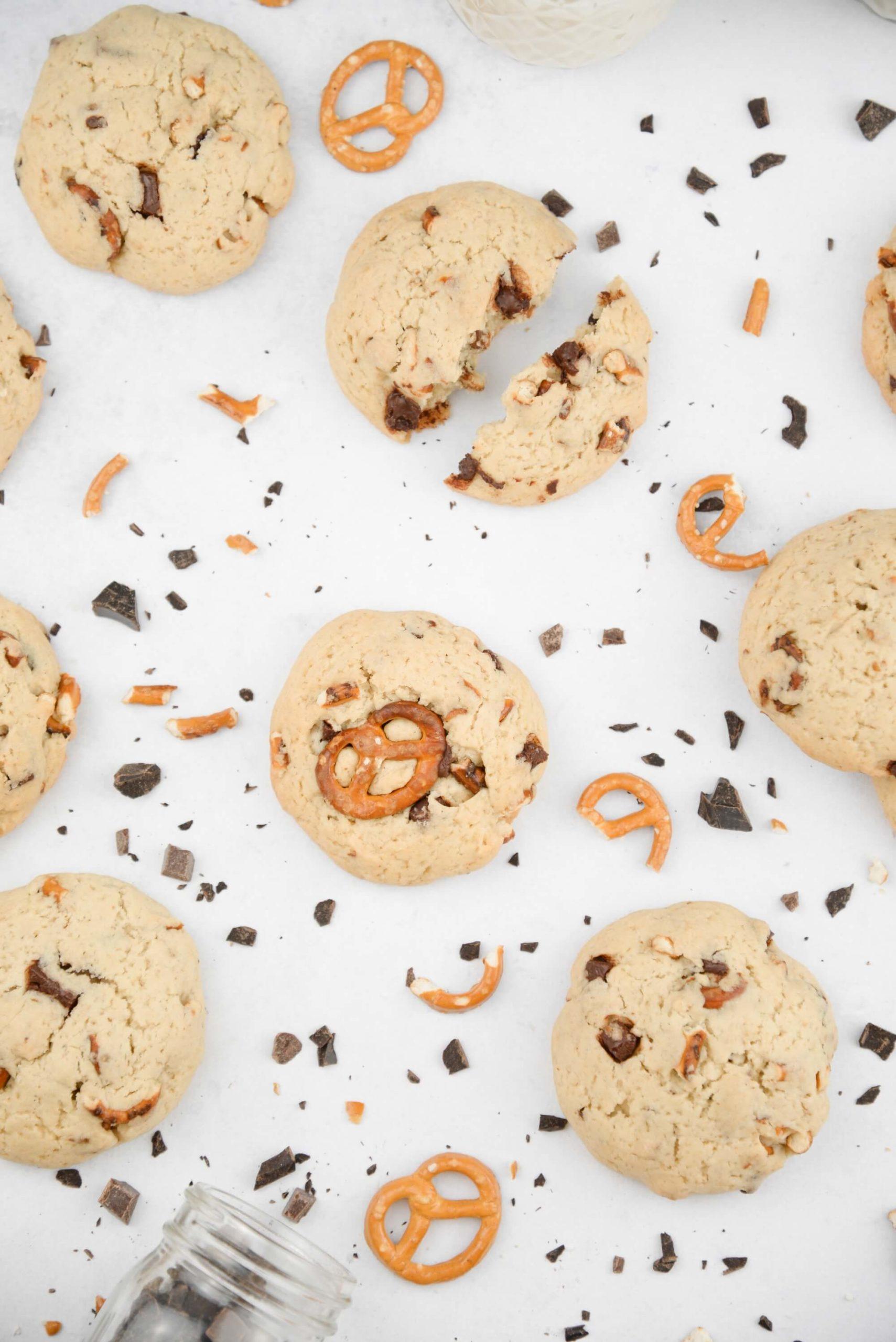 Cookie vegan bretzel alsace