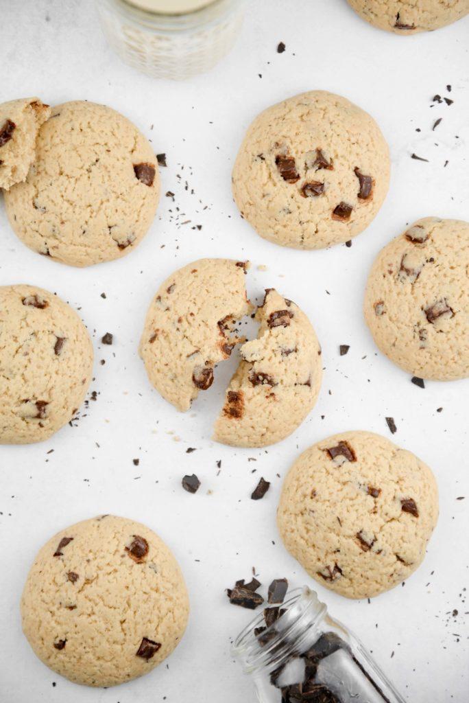 Cookie vegan pepites