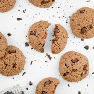 Cookie vegan tout chocolat